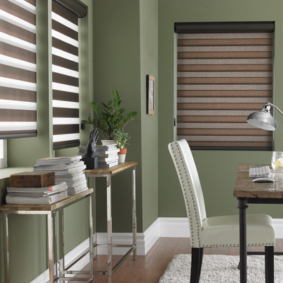 Eclisse Sheer Roller Shades Gicor Calgary