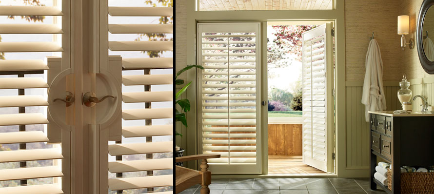 Hunter Douglas Palm Beach French Door Shutters