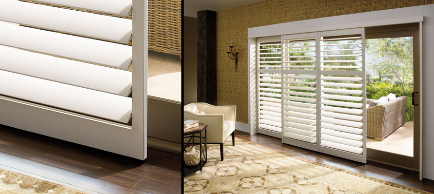 Hunter Douglas sliding shutter panels