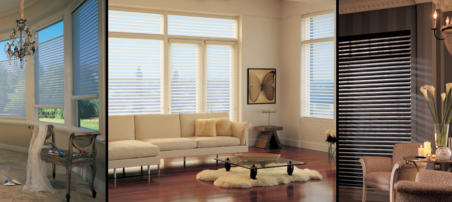 Fabric shades calgary window coverings calgarygicor calgary for Motorized top down bottom up shades
