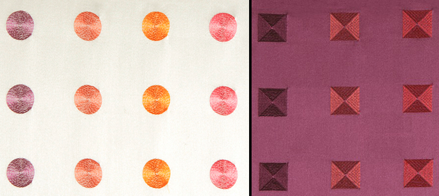 Maxwell Fabrics Drops of Jupiter and Space Station