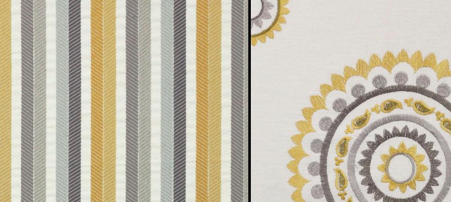 Maxwell Fabrics Transition and Tabriz
