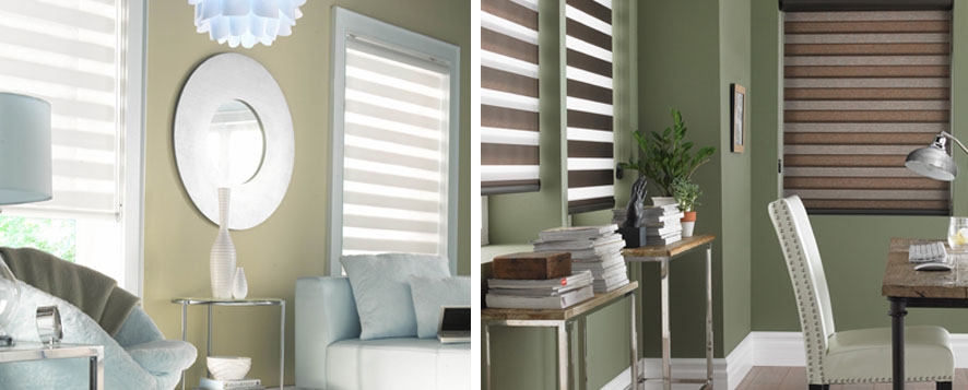 Eclisse Sheer Roller Shades