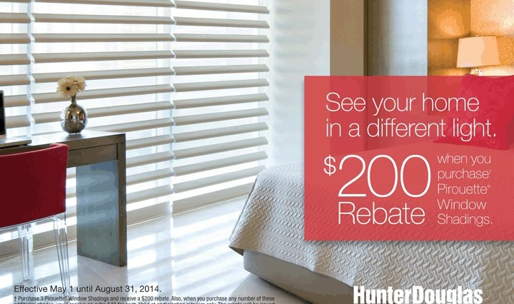 GiCor Spring/Summer Promotions (Hunter Douglas)