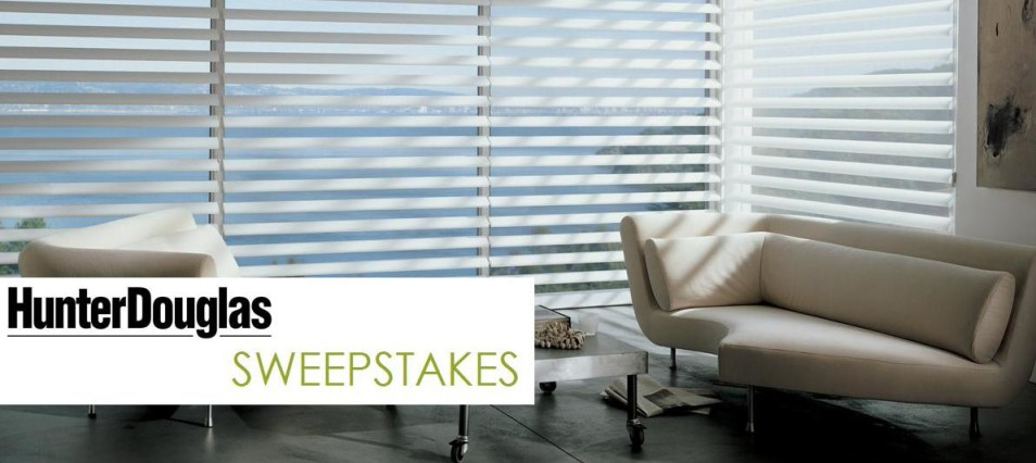 Hunter Douglas: Home Makeover Sweepstakes