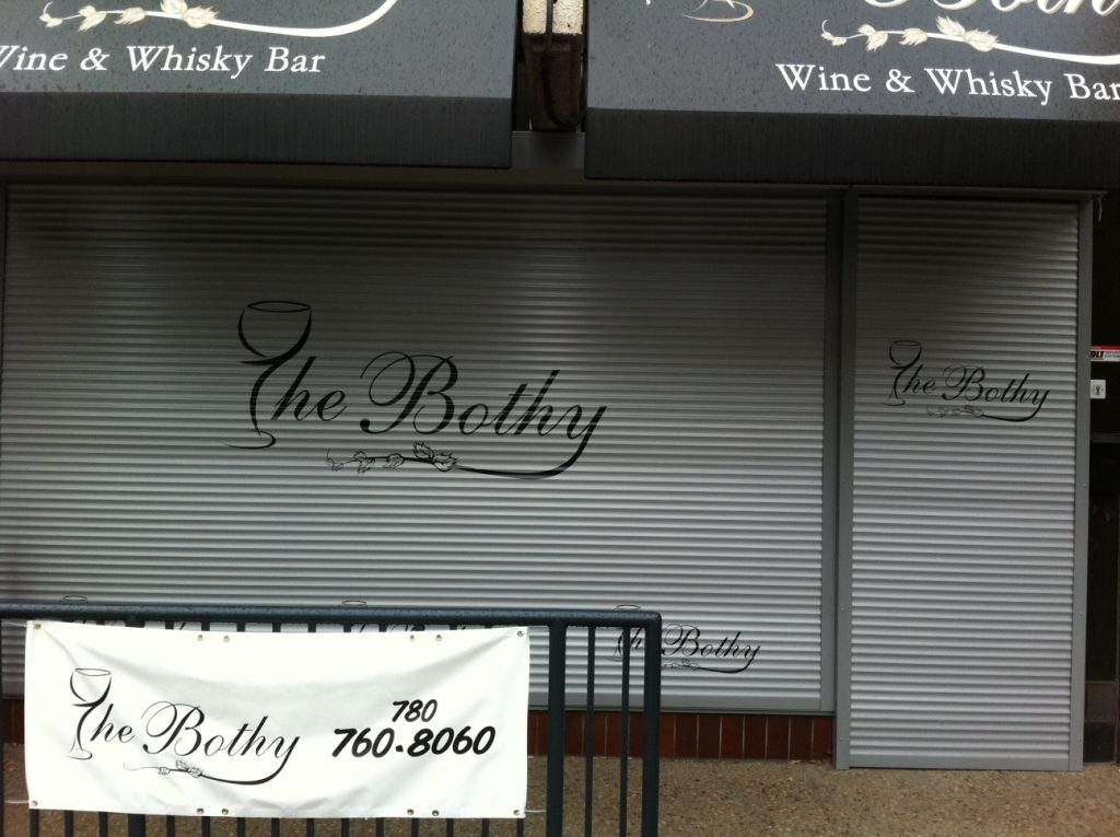 the bothy decal